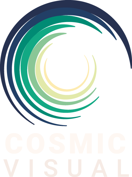 Cosmic Visual logo